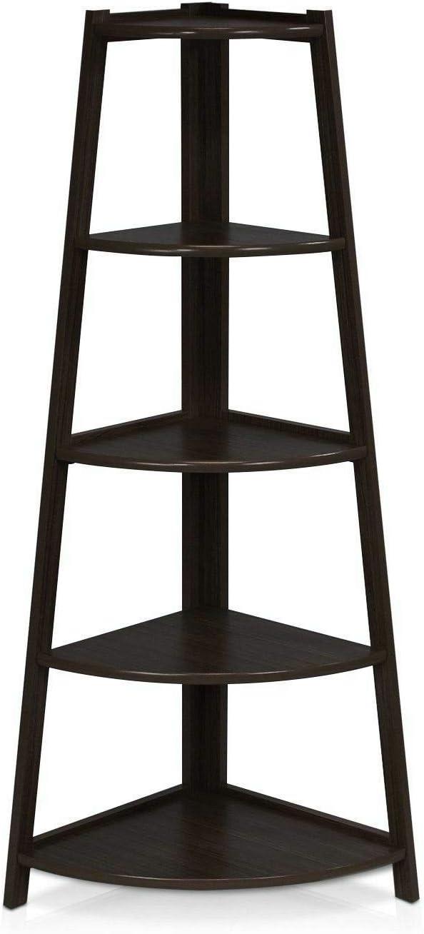 55% OFF Galapagoz Corner Shelf Stand Super special price Display F Wood Storage Rack Shelves
