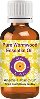Deve Herbes Pure Wormwood Essential Oil (Artemisia absinthium) 100% Natural Therapeutic Grade Steam Distilled 100ml (Pack of 3) (10.1 oz)