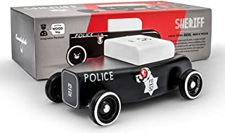Candylab Toys - Outlaw Sheriff Wooden Car - Modern Vintage Style - Solid Beech Wood
