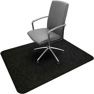 [Amazonブランド] Umi.(ウミ) 床保護マット チェアマット 滑り止め 吸音 丸洗い可能 カット可能 厚み4mm 90×120cm(ブラック)