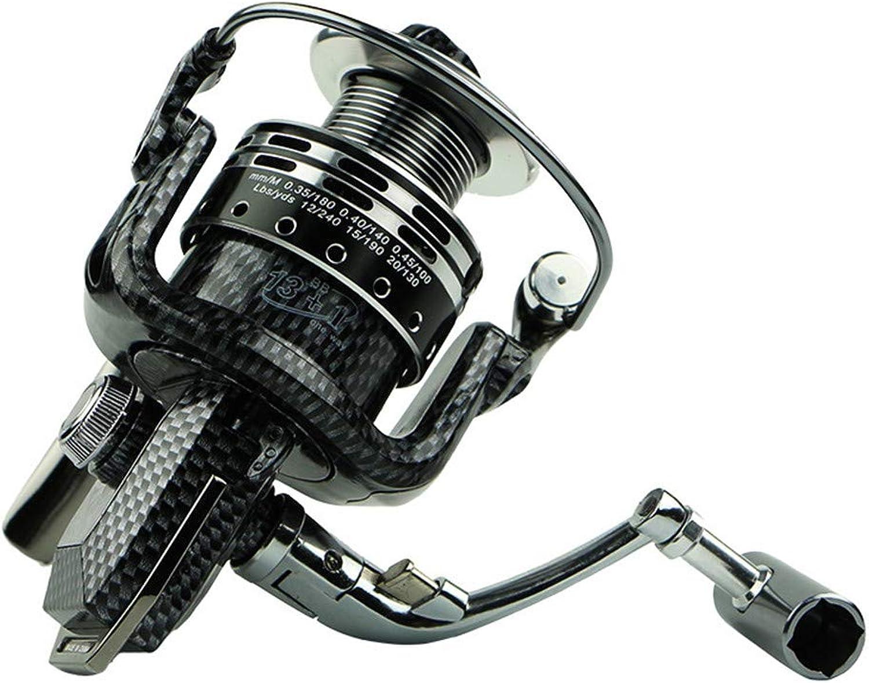 Chengzuoqing Schnelle Angelrolle Doppelladetrommel Karpfen Angelrolle voll Metalldraht Tasse vorne und hinten Bremsscheibe Angelrolle Antiseptische Meerwassersole (Größe   BA6000)