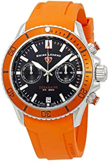 Oceanaire Chronograph Black Dial Watch SL-13857SM-01-OAS
