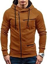 NRUTUP Men Turtleneck Sweater, Autumn Winter Casual Solid Full-Zip Long Sleeve Hoodie Sweatshirt Top Outwear Coat HOT!