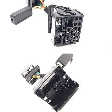 Rcd330 510 Multifunktionsrad Steuerung Simulator Adapter Kabel Für Golf Ect Auto
