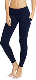 BALEAF Women's Mid-Waist Yoga Leggings Side Pockets 28 Workout Running Athletic Pants (XS-2X)