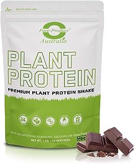 Pure Product Australia Pea & Rice Vegan Protein Powder, Chocolate 1 kilograms