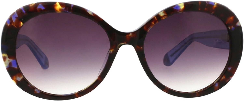 Catherine Malandrino Women's Glam Round Elegant Sunglasses