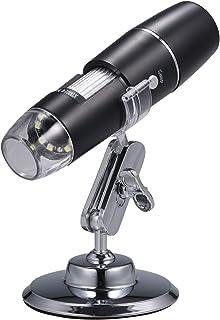 Electron Digital Microscope Portable WiFi Wirelessly 1000x High Definition Magnifying Glass Christmas Halloween Educationa...