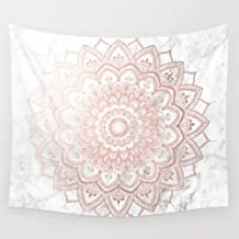 sdgfsag Pleasure Rose Gold Wall Tapestry Hanging Tapestries Wall Art 80X60 inch Digital Printing Unique Home Decoration