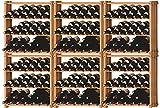 Ma Cave à Vin - Meubles en bois - CASIER BOIS ACI-MOD601 - Capacité bouteilles : 216 (min/maxi : 216/363)