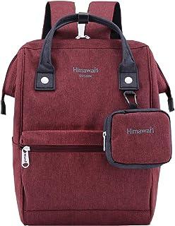 Himawari Travel Laptop Backpack for Men Women, Huge Capacity 15.6'' Computer Notebook Bag for School College Students(Burg...