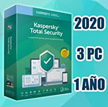KASPERSKY TOTAL SECURITY 2020 3PC licencia electronica