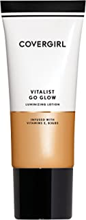 COVERGIRL Vitalist Go Glow Glotion, Light, 0.06 Pound (packaging may vary)