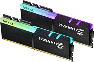 G.Skill TridentZ RGB Series 16GB (2 x 8GB) 288-Pin 3600MHz (PC4 28800) Desktop Memory Model F4-3600C17D-16GTZR