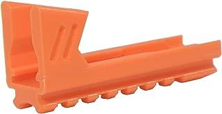 WORKER Mod 3D Printed Bottom Rail for Nerf Elite STRYFE Blaster Color Orange