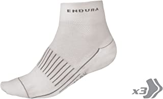 Womens Coolmax Race Cycling Sock (Triple Pack) White, OS