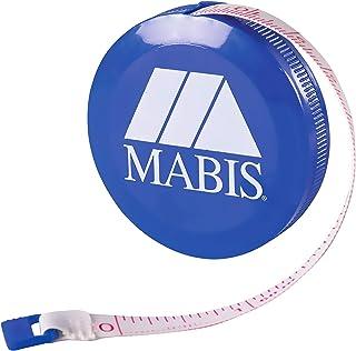 MABIS DMI Healthcare Mabis Retractable Tape Measure, Compact Flexibile Tape Measure, Blue, 35-780-010
