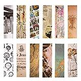 Segnalibri stile vintage per donna uomo, 30 pezzi (collezione retrò)...