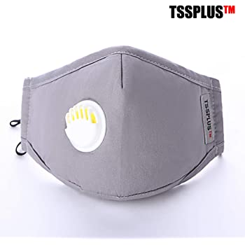 Anti-dust PM2.5 Cotton Mouth Face Mask Cycling Respirator Breathing Valve Filter