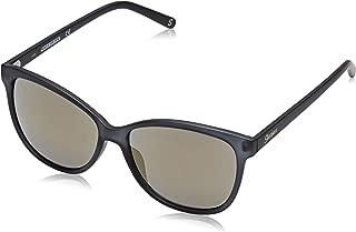 SE6034 Gafas de sol, Negro (Matte Black/Brown Mirror), 57 para Mujer