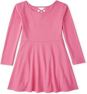 فستان للفتيات بأكمام طويلة من ذا كيدز بلايس