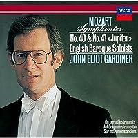 Mozart: Symphonies No. 40 & No. 41 by John Eliot Gardiner (2015-05-27)