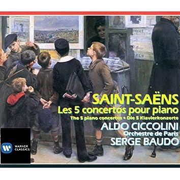 Saint-Saëns Les 5 Concertos pour piano