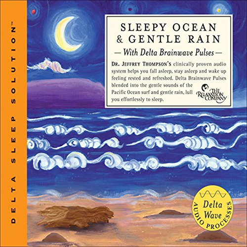 Sleepy Ocean & Gentle Rain audiobook cover art