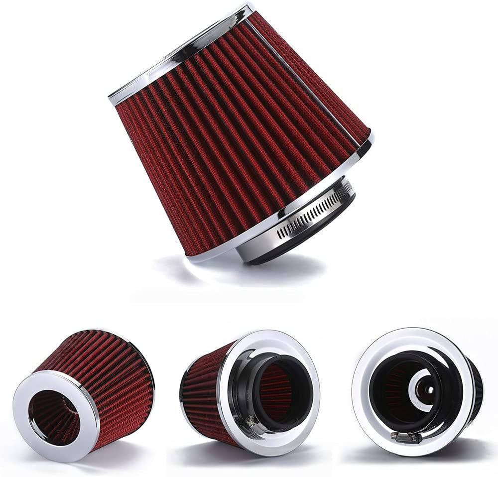 AotoKoop Universal Clamp-On Air Washable Filter High Online limited product 5 ☆ popular Fl