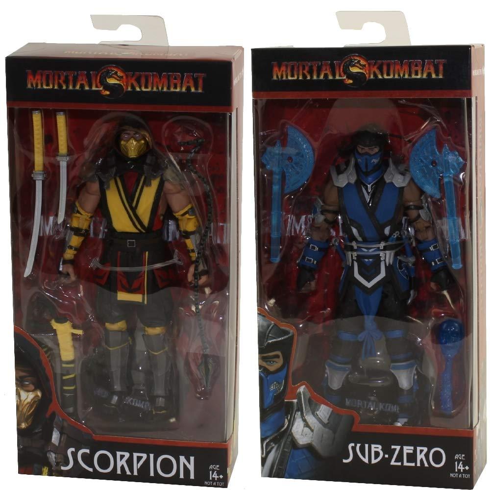 Amazon Com Mcfarlane Toys Mortal Kombat Xi Scorpion And Sub Zero