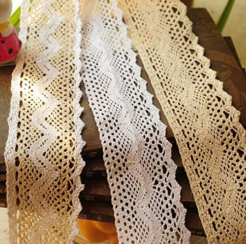KASMOM cheap 10 Meters 6CM Fabric Supplies Sewing Lace Gament Accessor Excellent