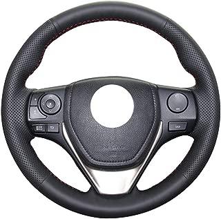 HCDSWSN Handn/ähen Lenkradbezug f/ür Mercedes Benz W204 C-Klasse 2007-2010 C280 C230 C180 C260 C200 C300