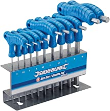 Silverline 323710 Hex Key T-Handle Set 2-10 mm - 10 Pieces
