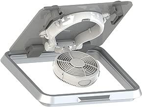 Caframo Taku 7620 12V Hatch Fan w/Suction Mount & Light - White