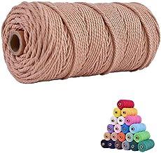 5 mm \u017bELAZO SZARY Cord cotton 100 m macrame Multi Color 100m 108 yards Bobbiny macrame rope yarn macrame chunky yarn