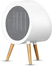 Ceramic Space Heater,1000W Electric Portable Heater 3 Setting Mode Electric Heater Fan Automatic shut off Personal Heater With Thermostat Tip-over & Overheat Protection For Home Bedroom Or Office