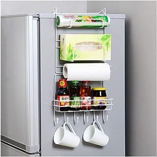 aipipl Accueil -Organisateur de Rangement Supports de réfrigérateur, Supports muraux Supports de Cuisine Type de Ventouse ...