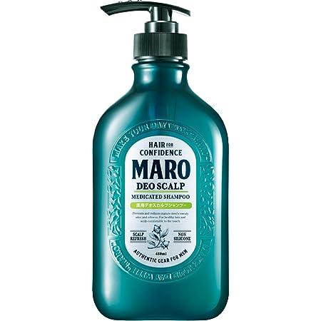 【医薬部外品】デオスカルプ 薬用 シャンプー [ グリーンミントの香り ] MARO マーロ 480ml メンズ