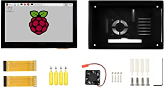 Waveshare 4.3inch Capacitive Touch Display for Raspberry Pi with Protection Case 800×480 IPS Wide Angle MIPI DSI Interface