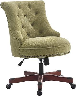 Linon AMZN0239 Office Chair, Brown