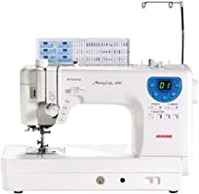 Janome MC-6300P Professional Heavy-Duty Computerized Quilting Sewing Machine w/Extension Table, Walking Foot, Darning Foot and More!