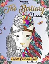 Adult coloring books: The Bestiary of Leen (adult coloring book, animals to colour, french artist, relaxation, self help)