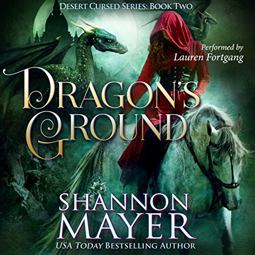 Dragon's Ground audiobook cover art