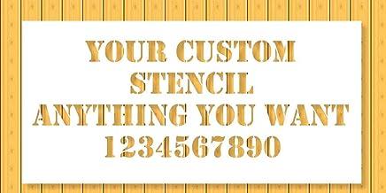 Amazon Com Custom Stencil
