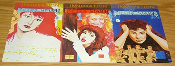 Media Starr #1-3 VF/NM; Innovation complete series (all covers pay tribute to Kate Bush albums)