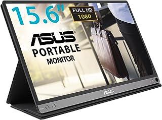 ASUS ZenScreen MB16AC 15.6 inch Full HD Portable USB Monitor, Hybrid Signal Solution, USB Type-C, Flicker Free, Blue Light...