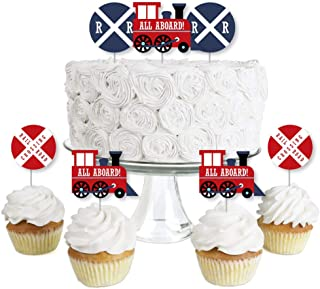 Best train cupcake topper Reviews