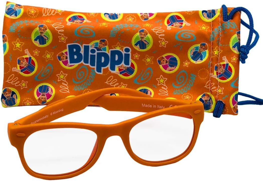 OFFicial Blippi Junior Screen Time Sunglasses Bendable - Bloc Blue New mail order Light