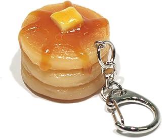 食品サンプルキーホルダー 食べちゃいそうなホットケーキ 013TK