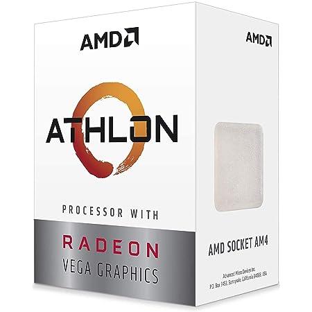 AMD Athlon 3000G Processor with Radeon Graphics 3.5GHz 2コア / 4スレッド 5MB 35W【国内正規代理店品】YD3000C6FHBOX